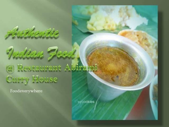 Restaurant abirami curry house ss 15
