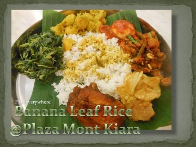 banana leaf rice mont kiara