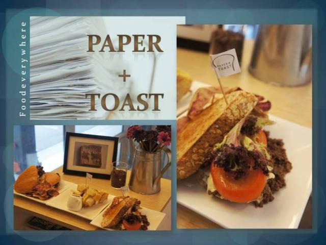 paper +toast