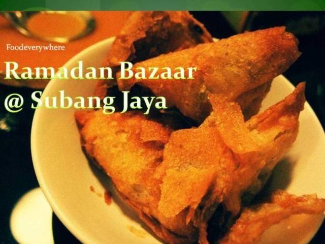ramadan bazaar ss 14