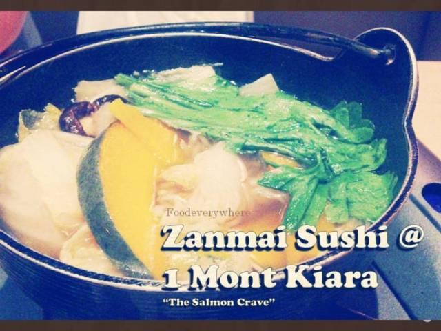 zanmai sushi salmon