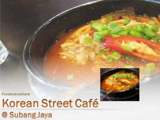 korean street cafe