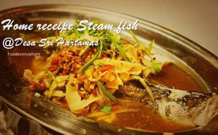 desa sri hartamas steam fish