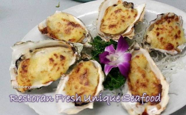 fresh unique seafood