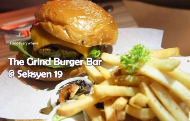 grind burger bar @ Seksyen 19