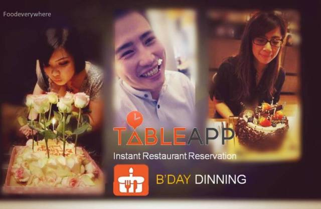 bday table app