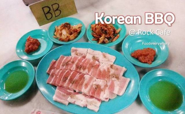korean bbq rock cafe