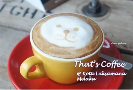 thats coffee