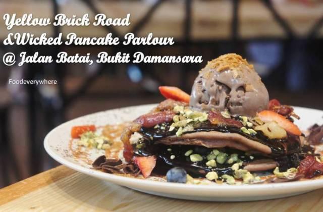 Yellow Brick Road and Wicked pancake parlour @ Jalan Batai