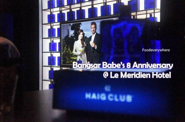 BB8anniversary Bangsar Babe Le Meridien Hotel KL