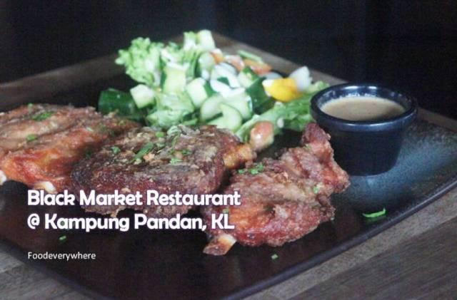black market @ Kampung Pandan KL