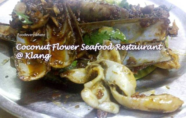 coconut flower seafood restaurant @ Klang